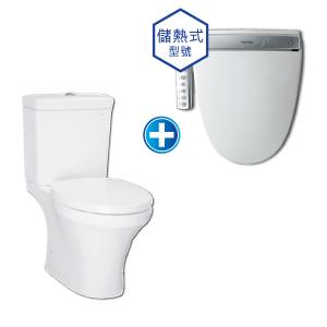 Novita儲熱式 智能潔淨廁板套裝 (KA570SH)
