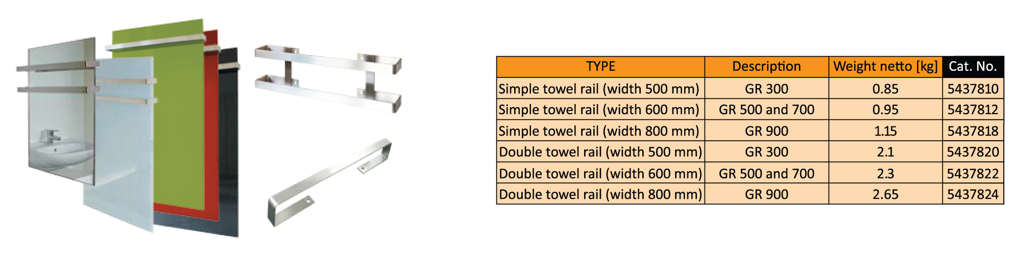 Fenix Towel Warmer Wiring Diagram The Rail Is In Shape Of A Rectangle With Dimensions 53090 Mm Distance Between Attachment Openings 260